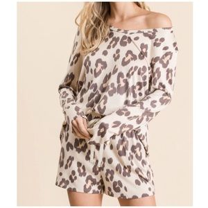 Leopard Lounge Top - New!